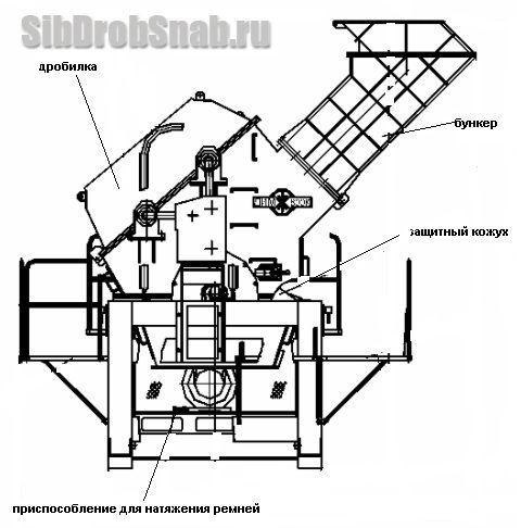 дробилка щековая ре - 100х200